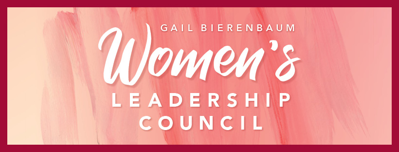 Gail Bierenbaum Women's Leadership Council logo