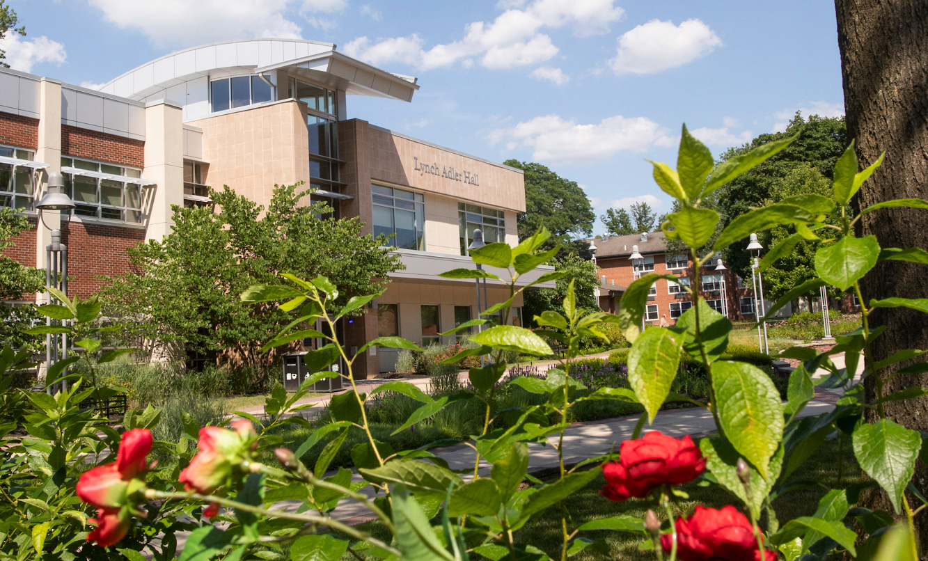 Lynch Adler Hall Spring Flowers