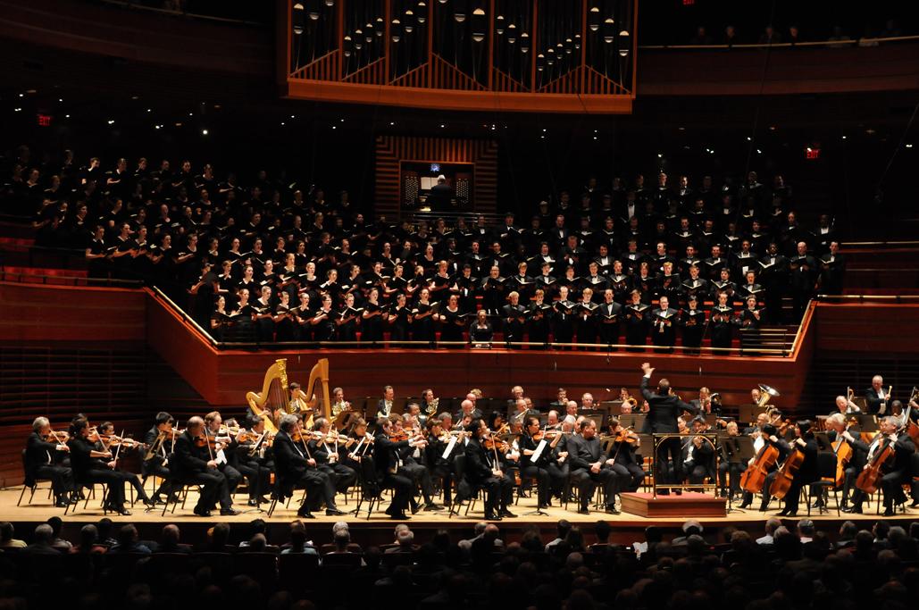 Westminster choir college at Verizon Hall