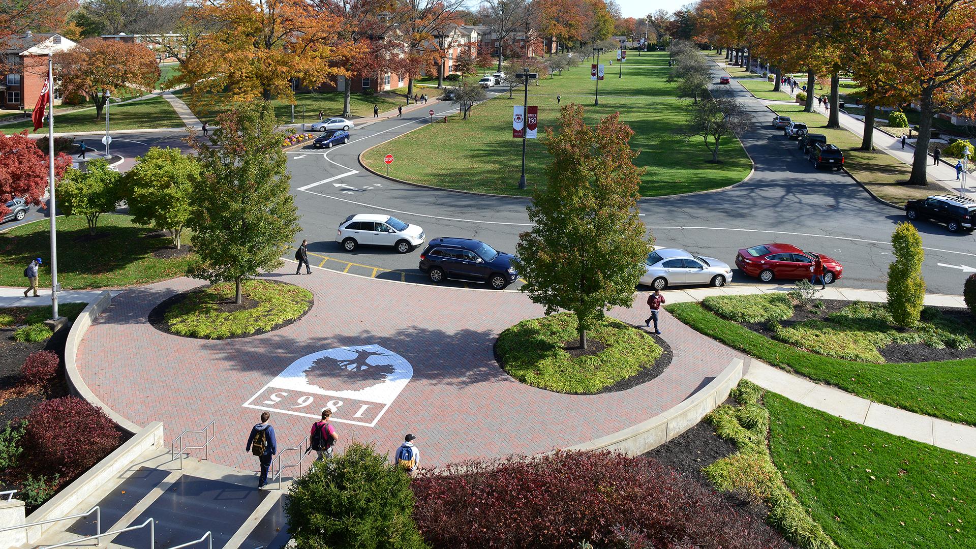 Rider University campus scene