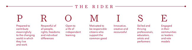 The Rider Promise
