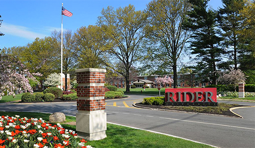 View of Rider's front entrance