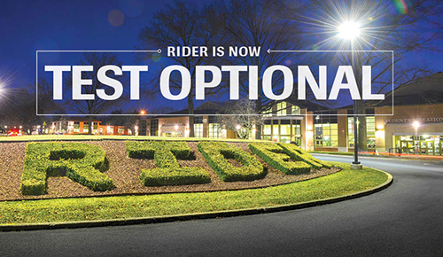 Rider is now test-optional