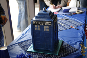 Dr. Who Standard Police Box