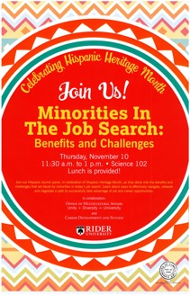Minorities in the Job Search