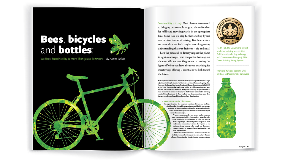 Bees, bicycles and bottles: