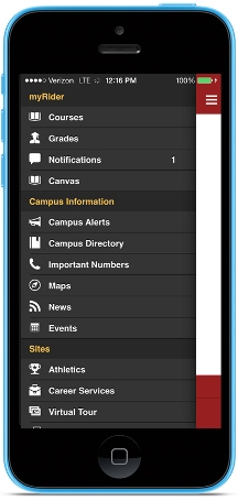 Rider University Mobile App | Rider University