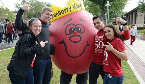 Cranberry Fest - Campus Traditions at Rider