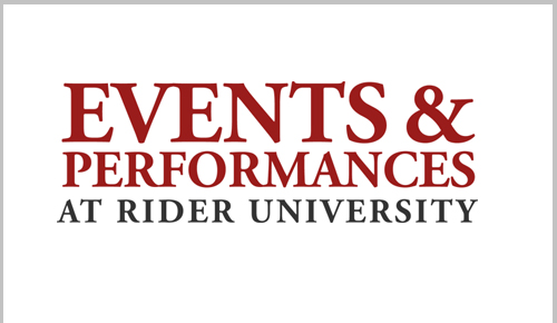 Events and Performances at Rider University, Calendar of events
