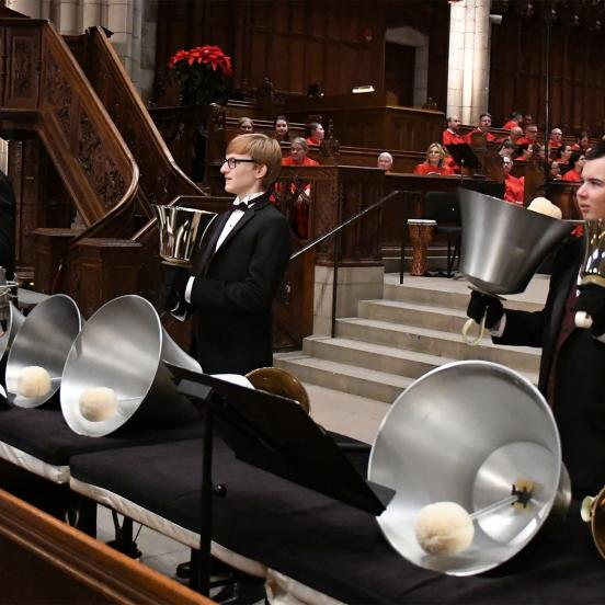 $125,000 grant will support Rider's renowned Westminster Concert Bell Choir