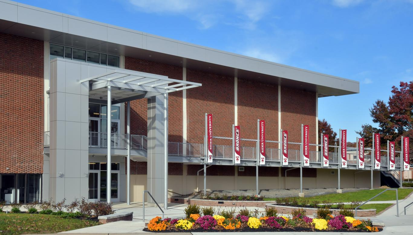 Exterior of the new Bart Luedeke Center