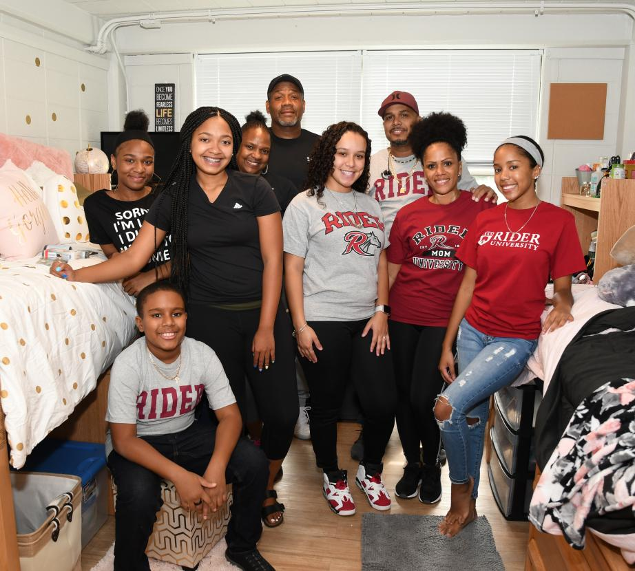 Parents support their students from move-in through graduation