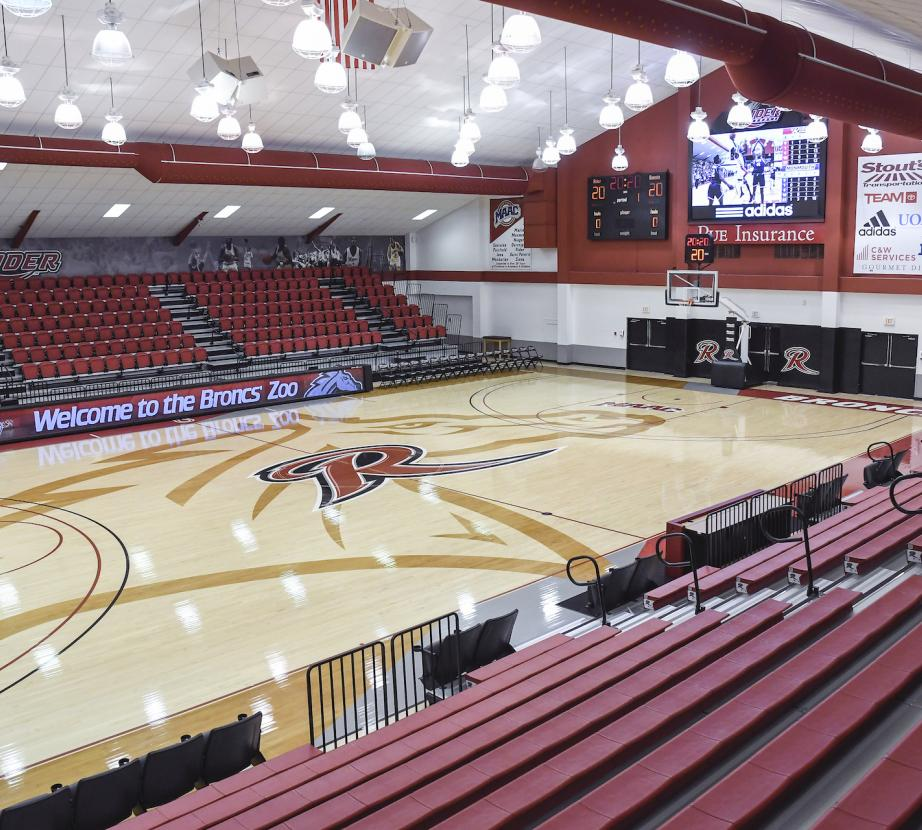 Alumni gym center court