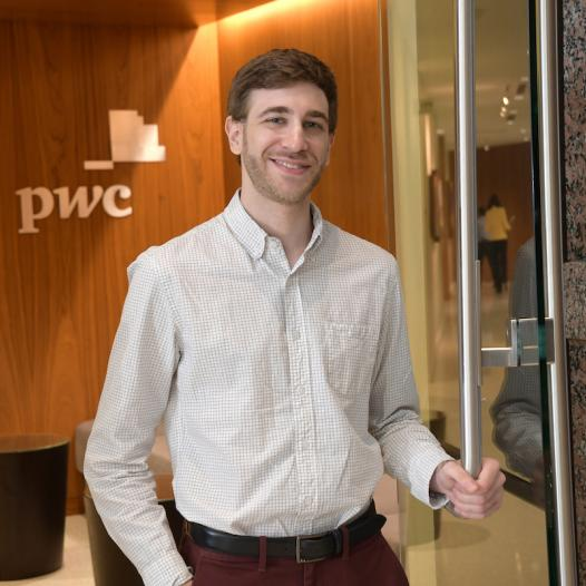 Student at Price Waterhouse Cooper
